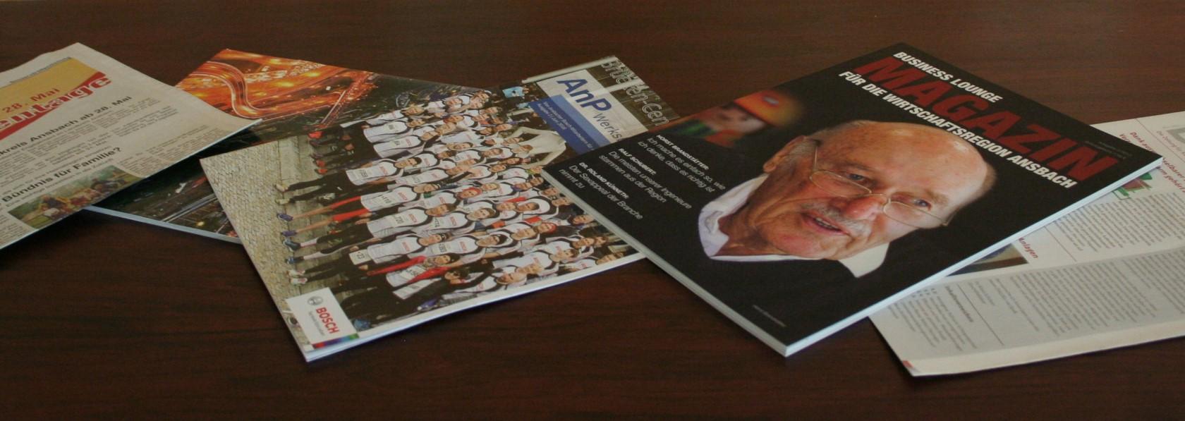 Kundenzeitschrift, Firmenzeitung & Newsletter